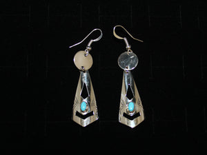 Contemporary Dangle Earrings