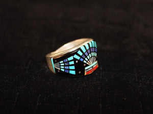 Modern Navajo Inlay Band