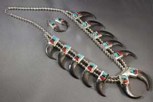 Serious Bear Claw Necklace