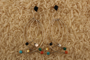 Contemporary, Dangle, Zuni, Women, Earring