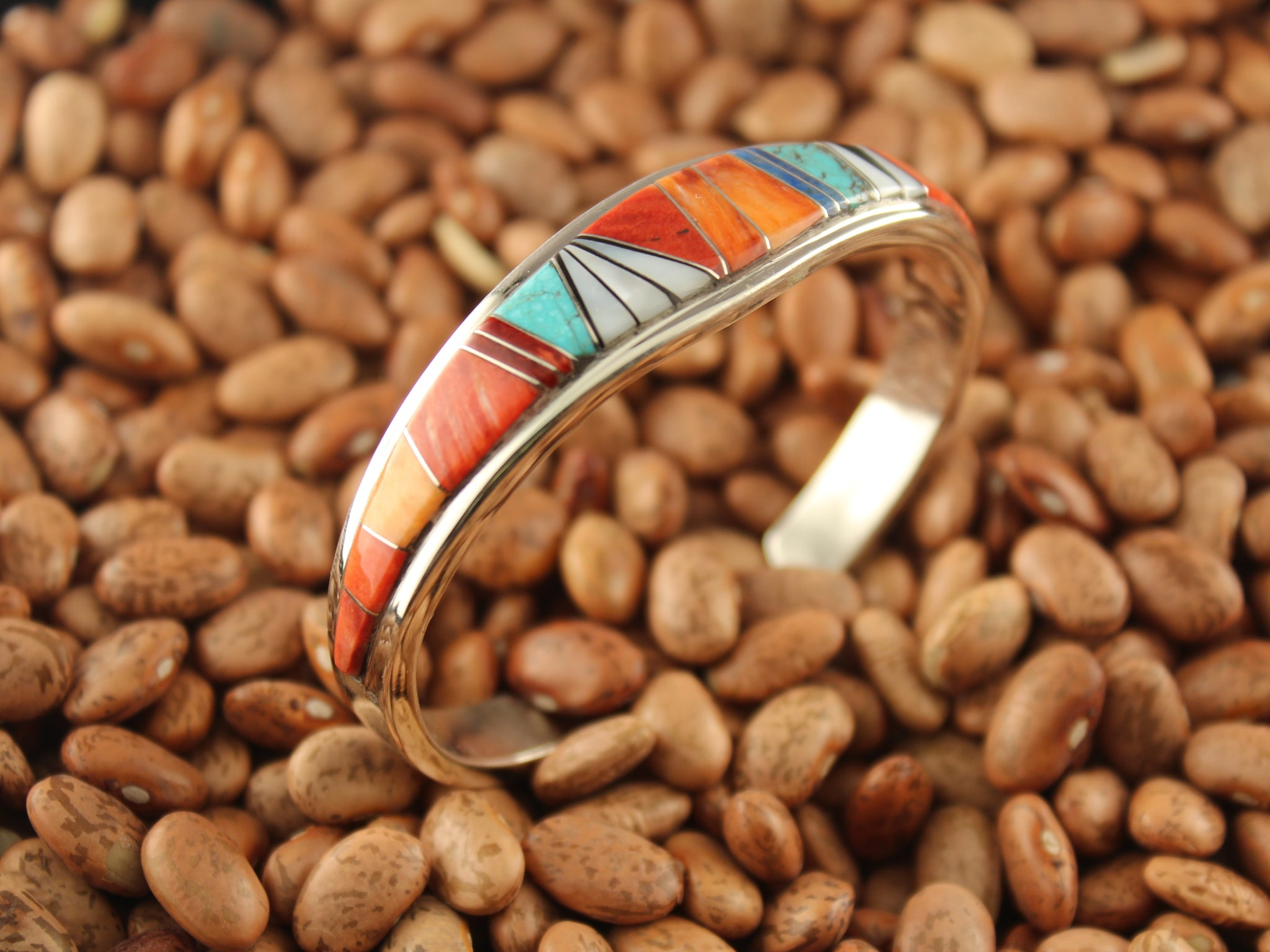 Slice Inlay Bracelet