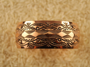 Domed Copper Cuff