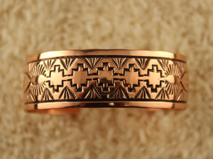 Straight Copper Cuff