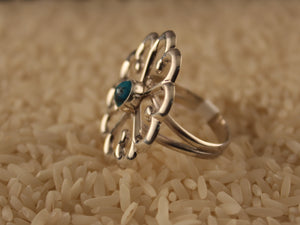 Flower of Hearts Ring