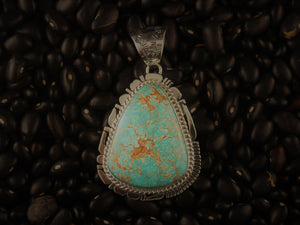 Medium Red Mountain Pendant