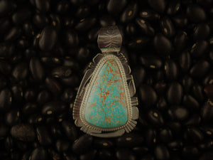 Small Red Mountain Pendant