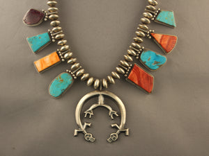 Multi Color Naja Necklace