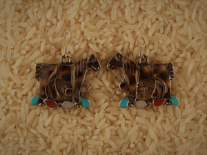 Pretty Ponies Earring
