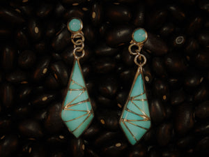 Zuni Slice Dangle Earring
