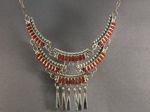 Double Row Chandelier Necklace