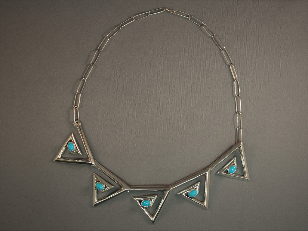 Spectacular Contemporary Sandcast Necklace