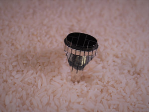 Striking Onyx Inlay Ring