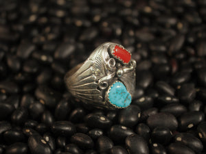 Handsome Men's Leaf Ring