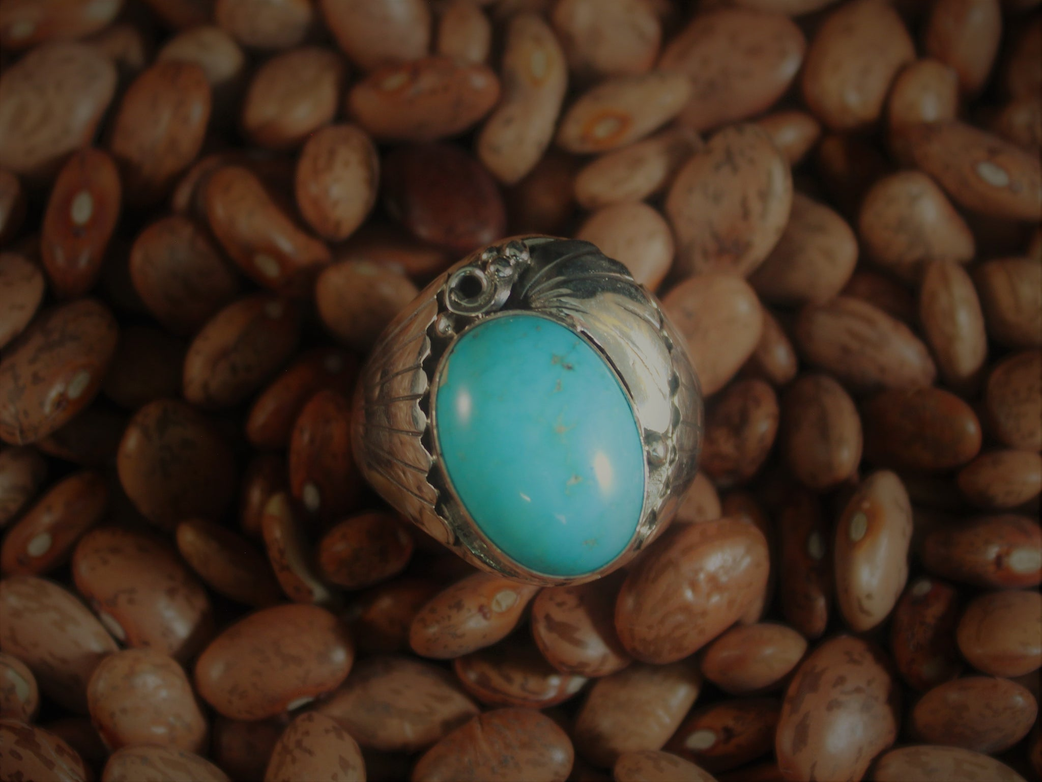 Turquoise Asymmetrical Ring