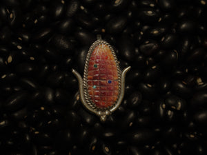 Purple Corn Pin/Pendant