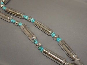 Handmade Beaded Jaclaw with Turquoise Beads