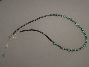 Zuni Heishi Nugget Necklace