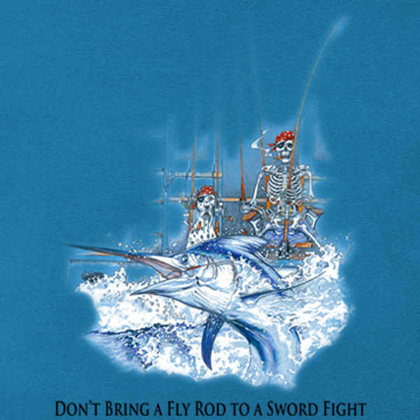 Sea Dog Don't Bring a Fly Rod to a Sword Fight