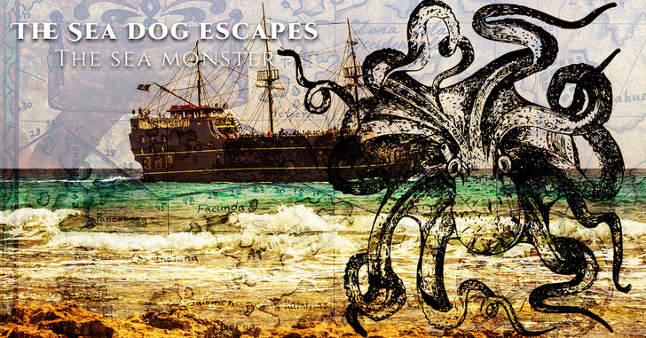 The Sea Dog Escapes The Sea Monster