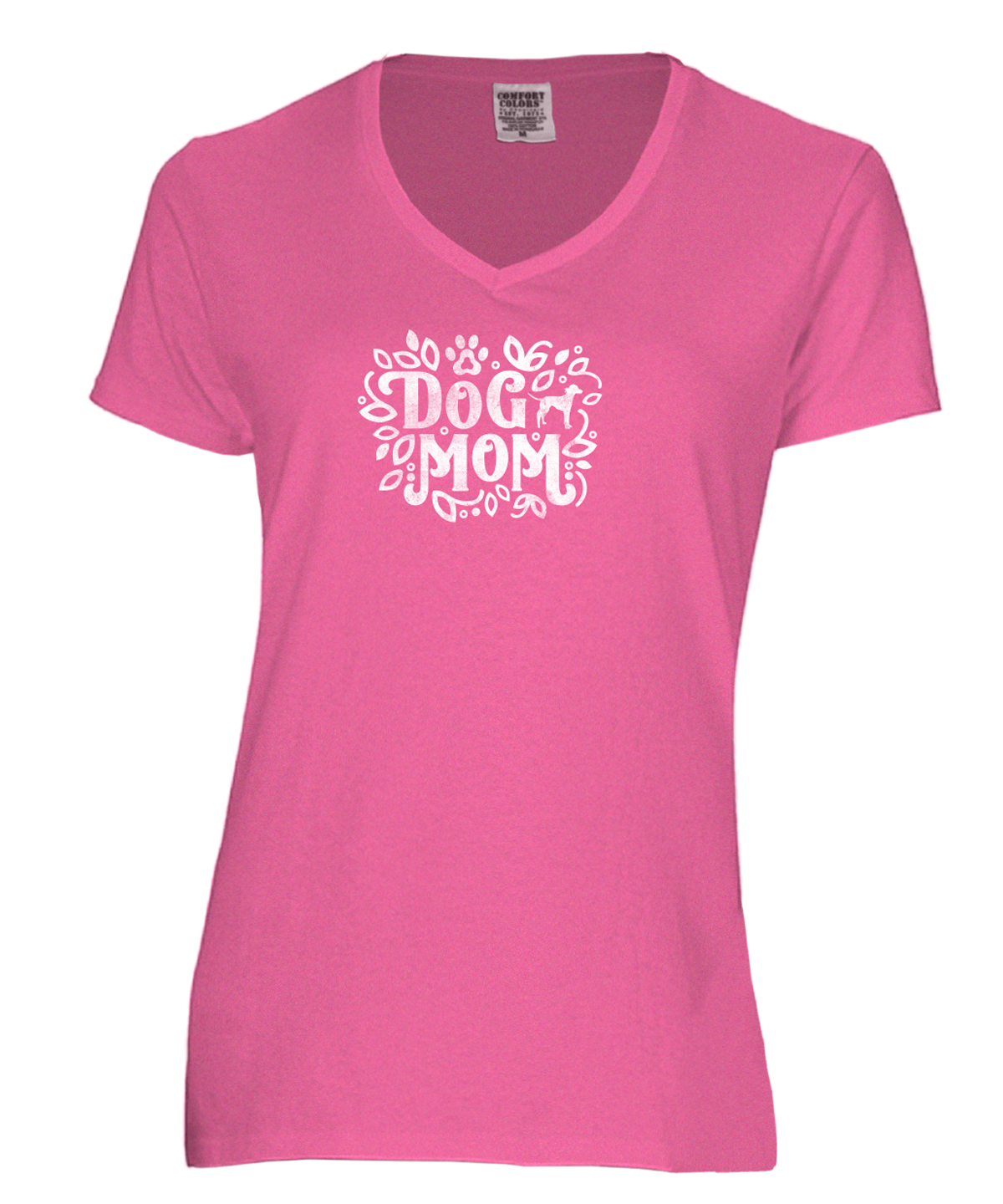 Dog Mom - Ultra Soft V-Neck