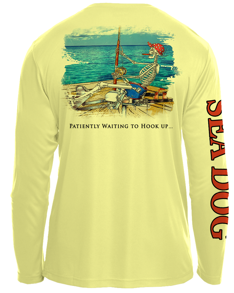 Bones Fisherman - UPF 30 Long Sleeve Shirt