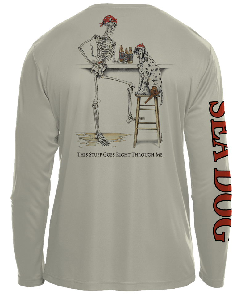 Bones Drinker - UPF 30 Long Sleeve Shirt