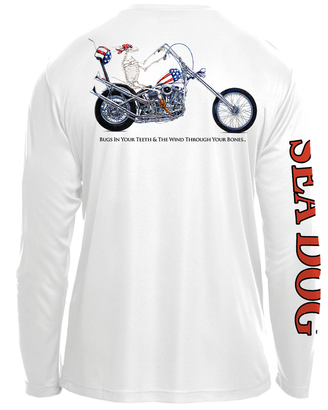 Chopper Dog - UPF 30 Long Sleeve Shirt