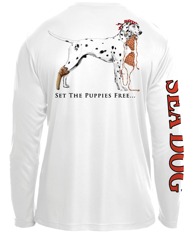 Bikini Dog - UPF 30 Long Sleeve Shirt