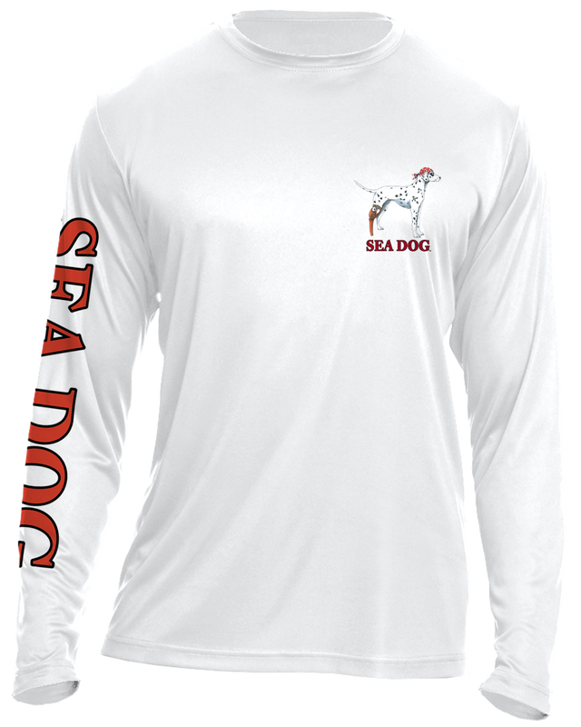 Of all the Fish in the Sea - UPF 30 Long Sleeve Shirt