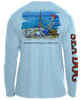Bones Fisherman - UPF 40 Long Sleeve Shirt
