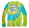 Ocean is Calling Tie Dye Long Sleeve Shirt