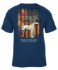Grunge US Flag T-Shirt