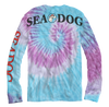 Sea Dog Big Back Lettering Tie Dye