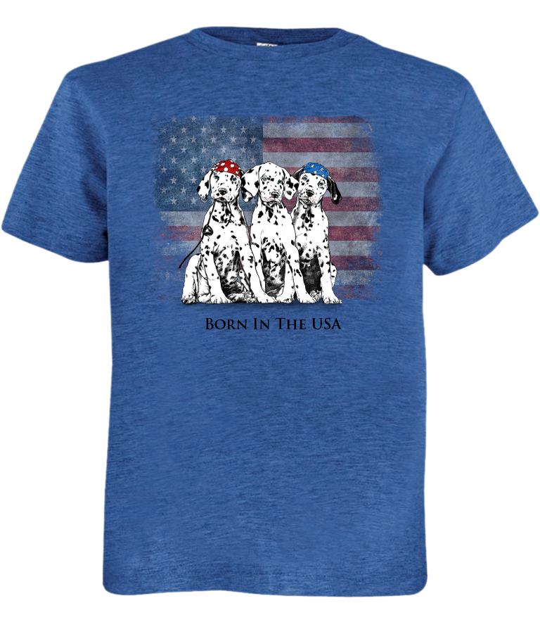 Born In The USA - Sea Pup T-Shirt