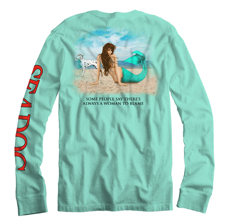 I'm The Woman To Blame - Long Sleeve