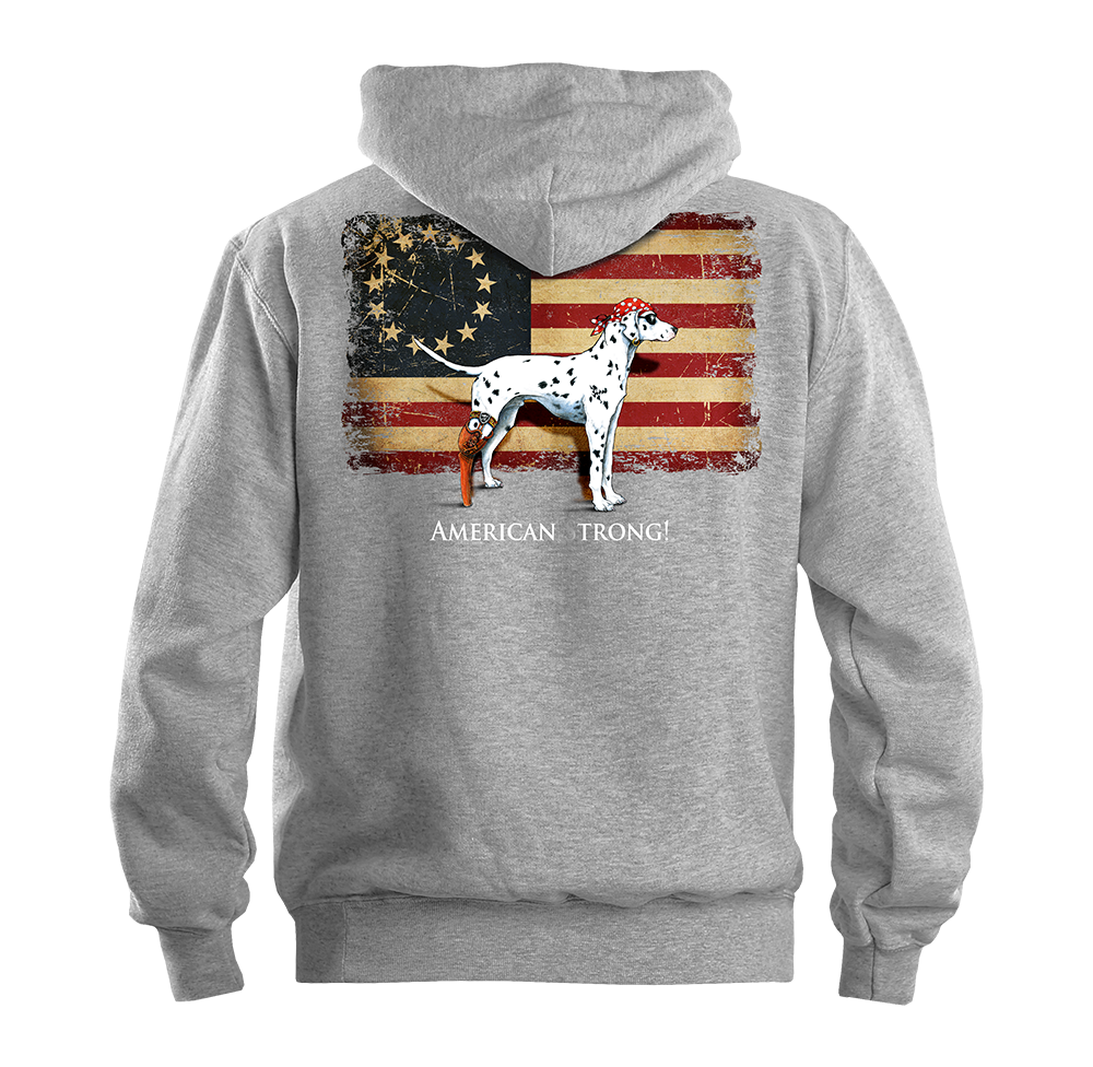 American Strong - Full Zip Hooded Sweat