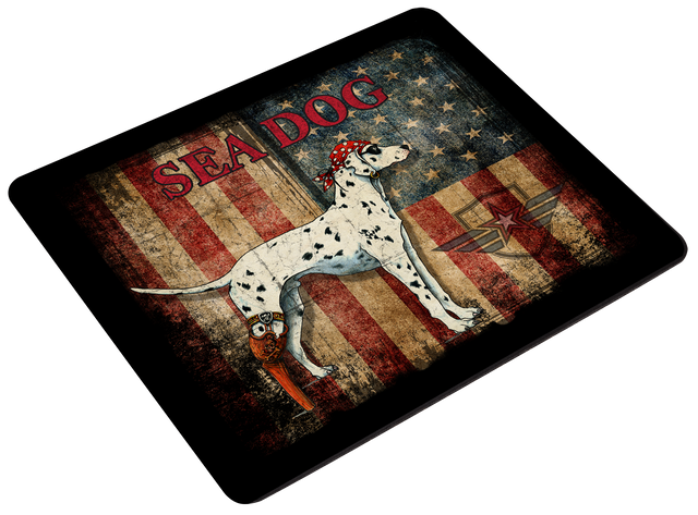 Mouse Pad - Grunge US Flag