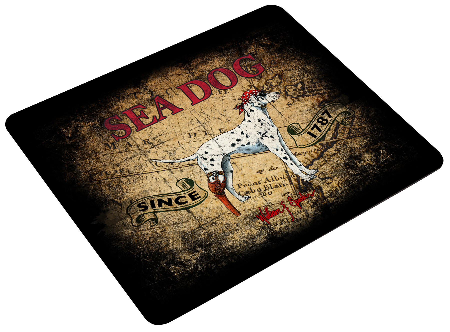 Mouse Pad - Treasure Map