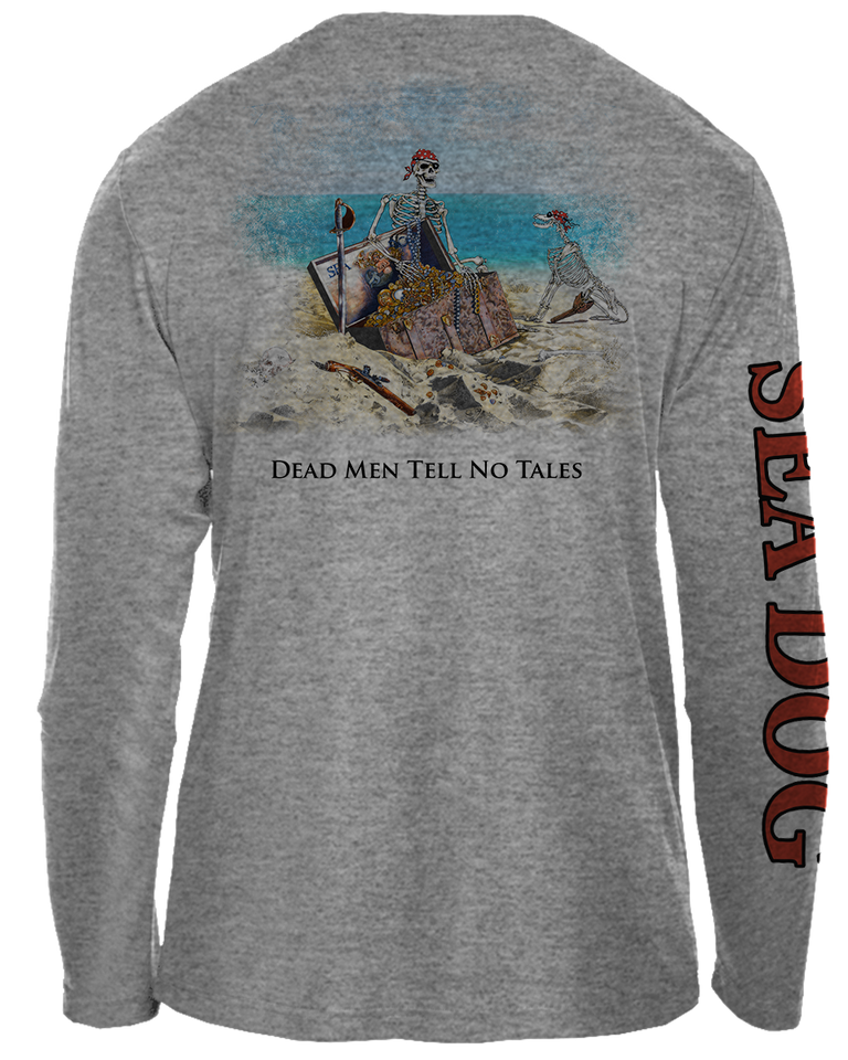 Dead Men Tell No Tales - UPF 30 Long Sleeve Shirt