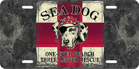 """One Eyed Search"" Front License Plates"