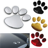 3D Paw Print Decal