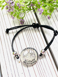 Yoga Mantra Bracelet - A Perfect Gift for Yoga Lovers - Heavily Meditated - Moonstone MantraWear