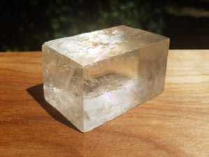 Optical Calcite Rhombohedron