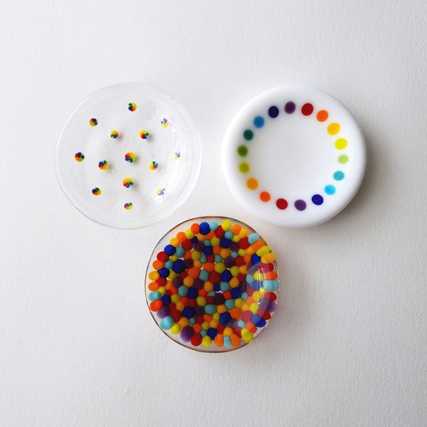 Fused Glass Mini Dishes (Seconds)