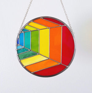 Rainbow Variations Suncatcher