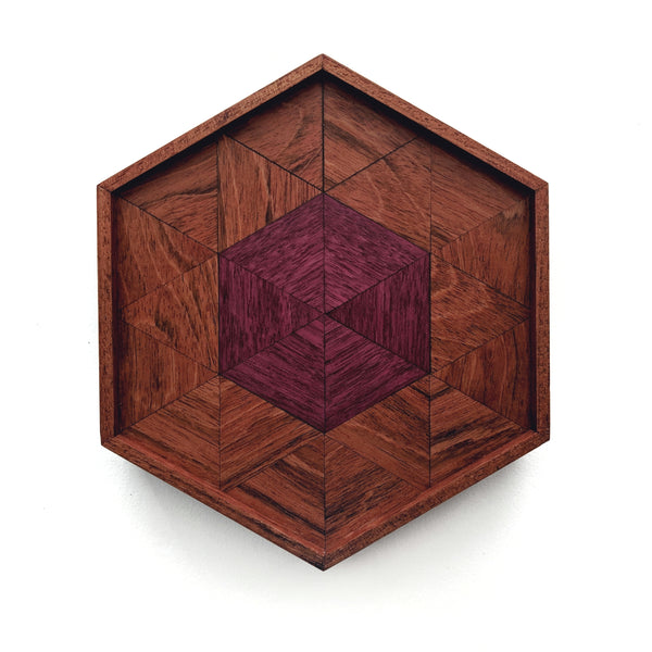 Tessellated Wood Tray