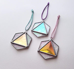 Aura Hex Suncatcher