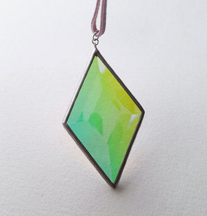 Aura Diamond Suncatcher