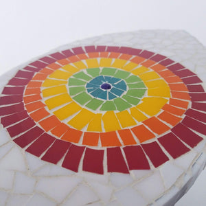 Rainbow Eye Mosaic Wall Hanging