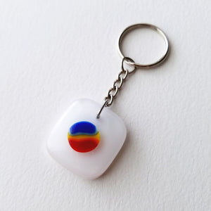 Fused Glass Keychains (Seconds)